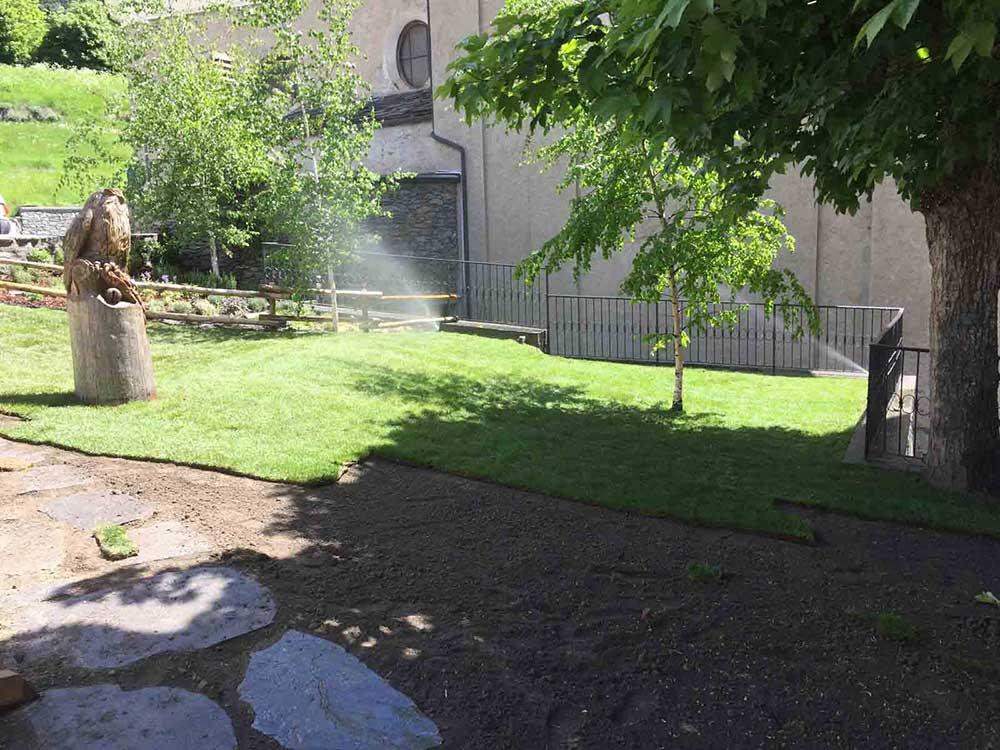 arte verde impianto irrigazione aosta