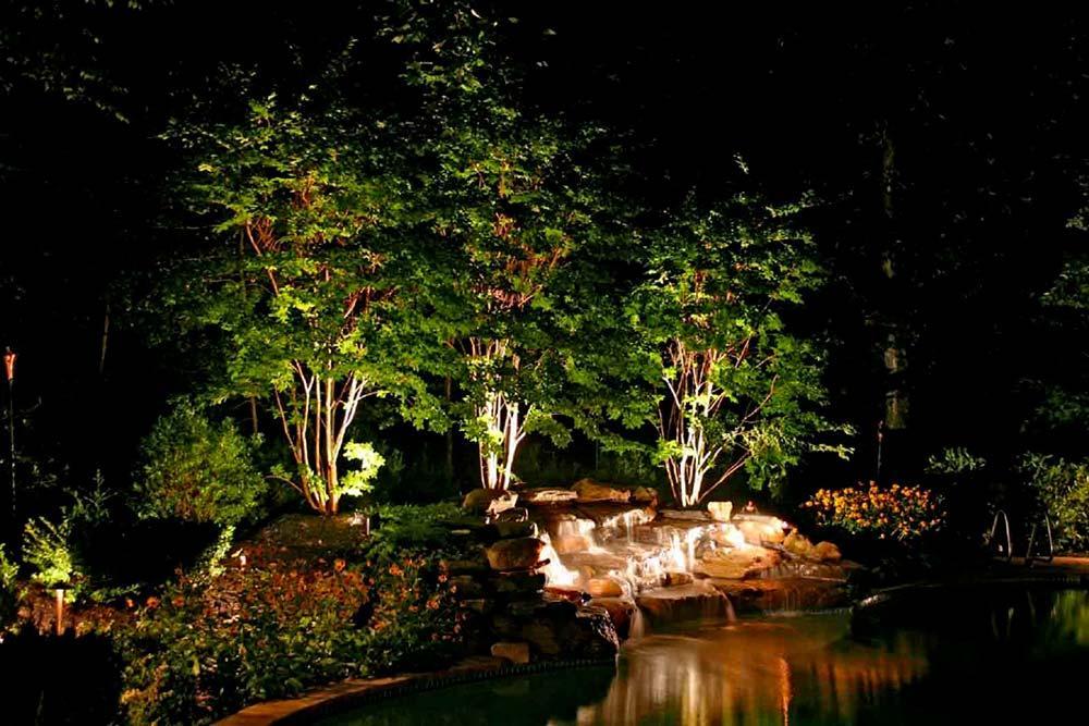 illuminazione arte verde valle aosta