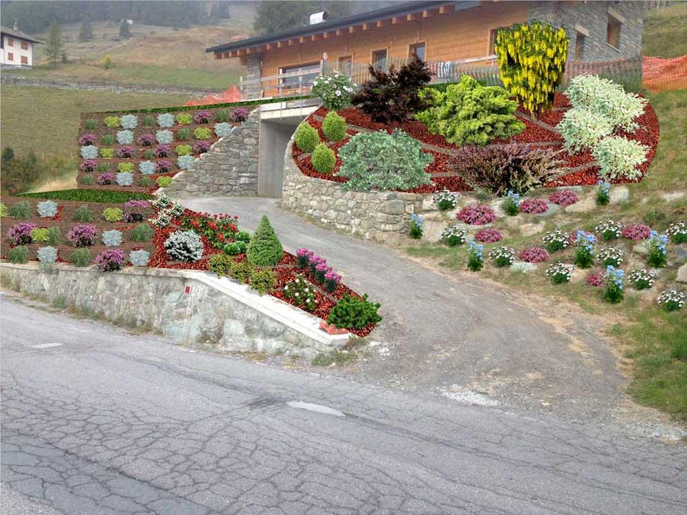 prgettazione verde valle aosta torino dopo