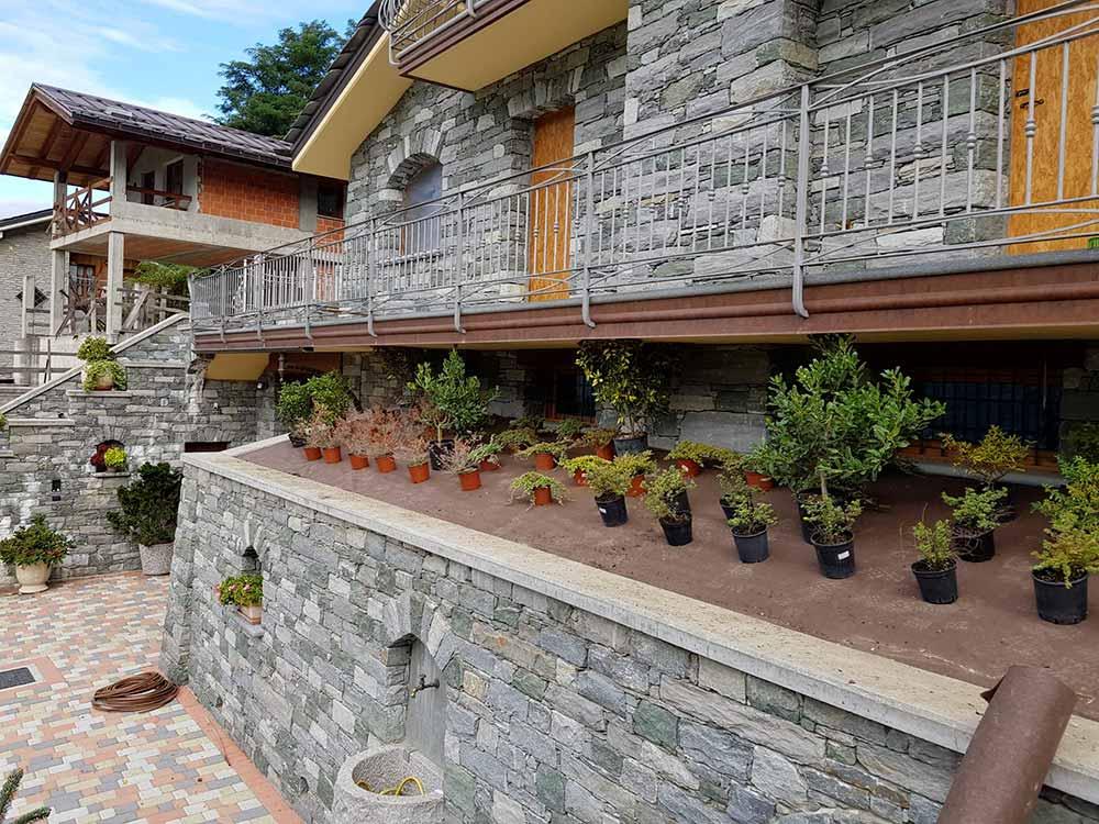 progettazione giardini spazi verdi valle aosta