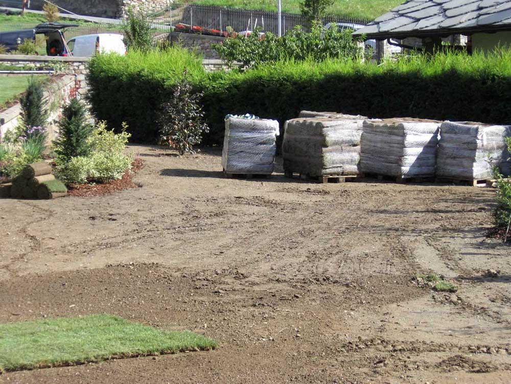 tappeto erboso arte verde aosta