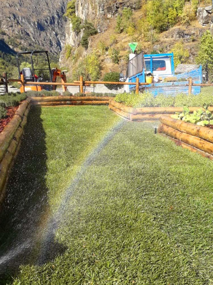 vendita installazione impianto irrigazione aosta